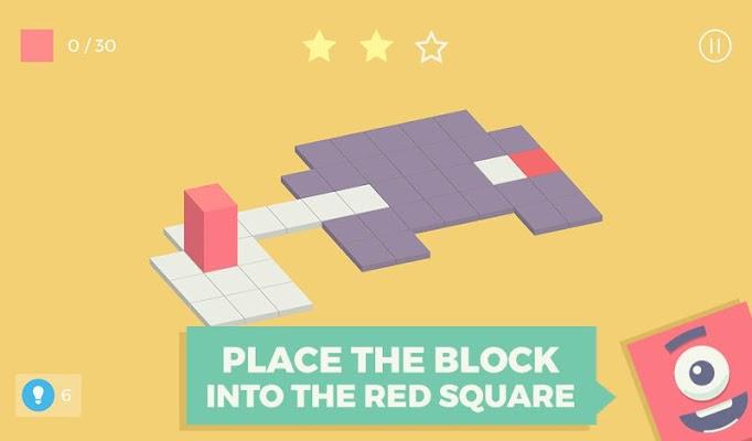 Roller Block: Think Roll Win - screenshot
