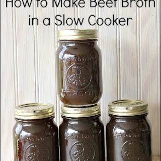 Leftover Beef Broth Recipes