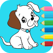 Kid Animals Coloring Book