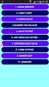 Halay Şarkıları ve Türküleri screenshot 1