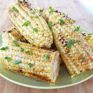 Grilled Sweet Corn.