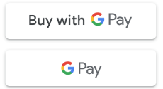 Online payments with Google Pay logo