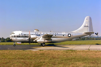 Photo: DAYTON, Ohio -- Boeing KC-97L Stratofreighter at the National Museum of the United States Air Force. (U.S. Air Force photo)