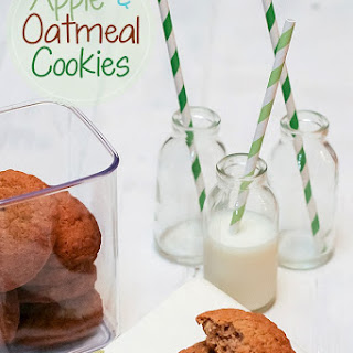 Apple and Oatmeal Cookies