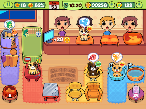 My Virtual Pet Shop - Cute Animal Care Game 1.10 screenshots 15