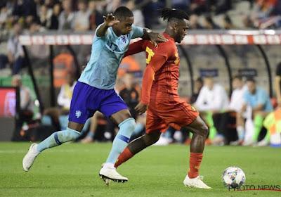 Pablo Rosario niet tevreden met zijn wedstrijd tegen België