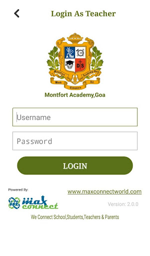 Montfort Academy,Goa screenshot 4