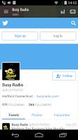 Screenshot of Busy Radio