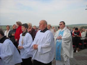 Photo: Zahájení slavnostní mše svaté u Panny Marie nad Hlukem 31.5.2012