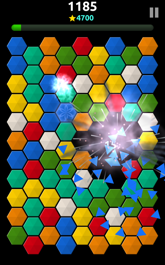 TrickyTwister: color tile game- screenshot