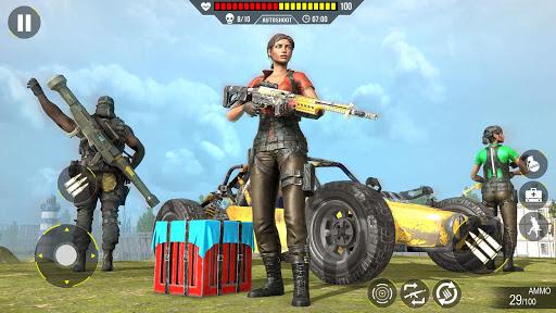 Commando Gun strike: FPS Shooting Games 2020 android2mod screenshots 1