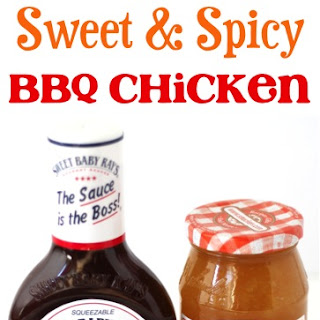 Crockpot Sweet and Spicy BBQ Chicken Recipe!