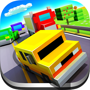 Blocky Highway: Traffic Racing MOD APK 1.2.1 (All cars unlocked)