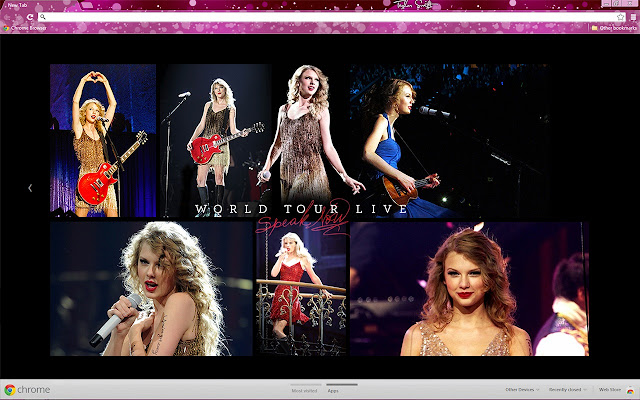 Taylor Swift Speak Now World Tour
