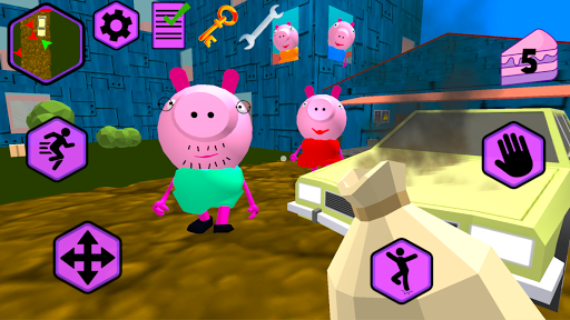 Piggy Neighbor. Family Escape Obby House 3D 1.7 screenshots 2