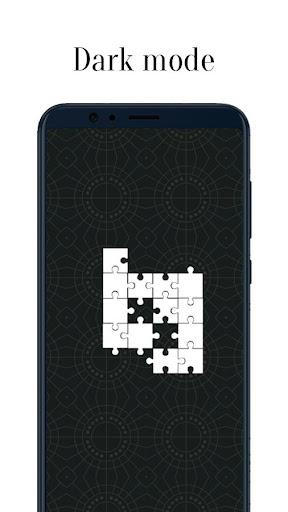 Zen Jigsaw - White Jigsaw Puzzle android2mod screenshots 5