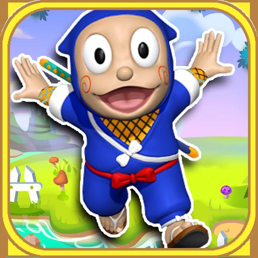 Ninjakid Jungle Hatori Run Game for kids