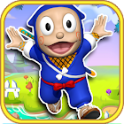 Ninjakid Jungle Hatori Run Game for kids icon