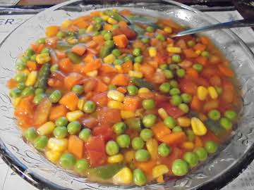 EASY VEGETABLE SOUP!!