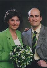 Photo: Peter de With en Silvy Ebers 24-4-1997