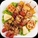 آموزش انواع غذاهای ایرانی ( کباب ، خورشت ، آش ) icon