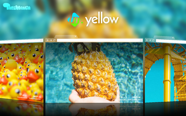 Light up your Tab – Yellow Things HD Images