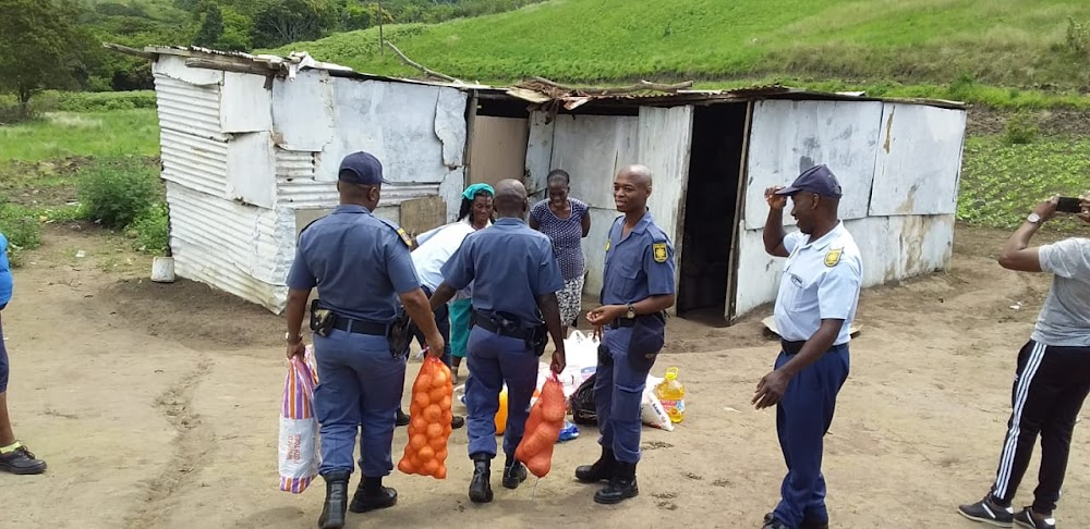Police arrange groceries and clothes for KZN teen kicked out of home after fight with mom - SowetanLIVE
