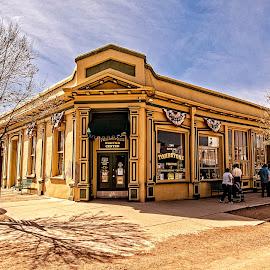 Corner Store by Richard Michael Lingo - Buildings & Architecture Other Exteriors ( arizona, buildings, exterior, store, architecture )
