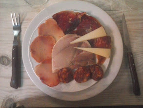 Photo: Etapa 18 a. Cecina, Llom, chorizo, lacón i formatge. León