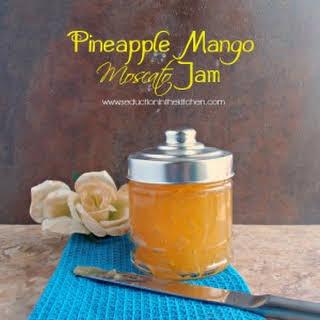 #SundaySupper Pineapple Mango Moscato Jam.