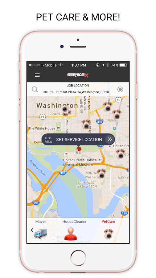 ServiceX Rides Delivery & More- screenshot