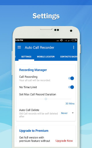 Auto Call Recorder PRO screenshot