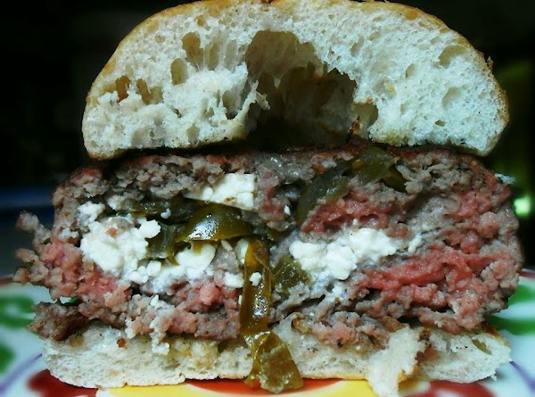 #1  COTJIA AND JALAPENO PEPPER BURGER:  I used cotjia cheese, which is very...