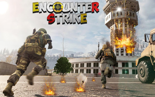 FPS Encounter Strike 3D: Free Shooting Games 2020 android2mod screenshots 1