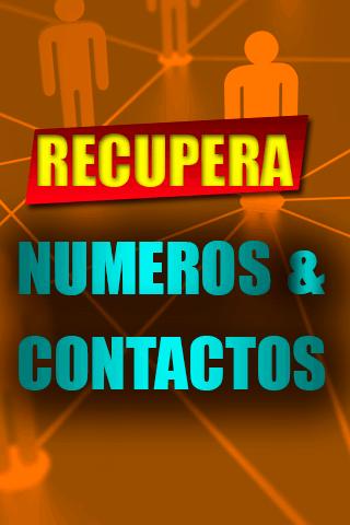 Recuperar Numeros Contactos Antiguos Borrados Guia screenshots 1
