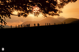 Photo: Playing The Old Fashioned Way  It was joyous tinged with a little sadness yesterday when on our way down to photograph the sunset at Derwent Water we came across a bunch of kids playing football and having a great time. Its just something we don't see too much of anymore, children play football but alas it tends to be on the latest gaming console.  Being old I remember making street carts out of old bits of woods and the wheels of a pram, building dens wherever we could and having your gang hang out in them. Going for bike rides that would last for hours on end and the only rule you had to abide by was be home when the street lights come on.