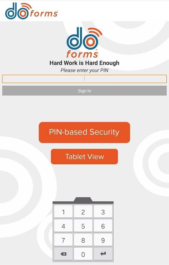 doForms Mobile Data Platform- screenshot