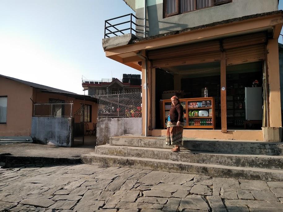 山の上の食料品店