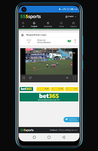 555 Sport live matches in HD