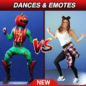 Dance Emotes Battle Challenge - VS Mode
