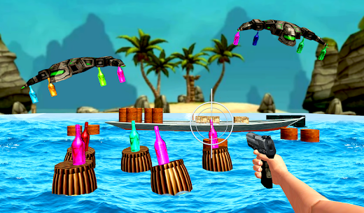 Real Bottle Shooter Game 2