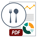 Mid Day Meal (MDM) PDF Reports and Calculator icon