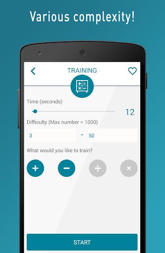 Quick Brain Mathematics - Exercises for the brain  screenshots 5