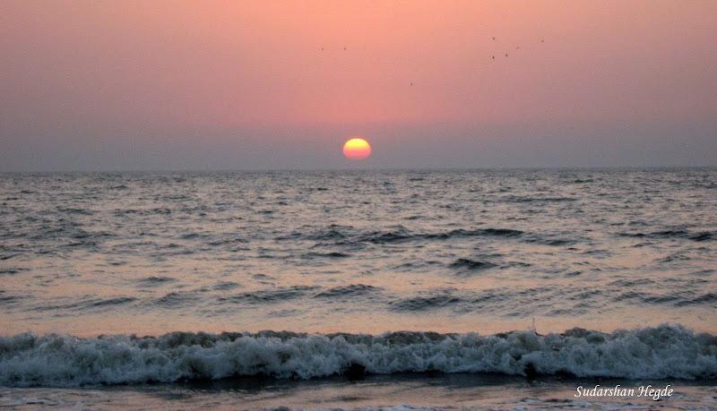 Photo: Sunset@Juhu Beach