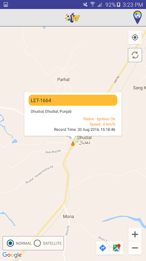 Tracking World App- screenshot
