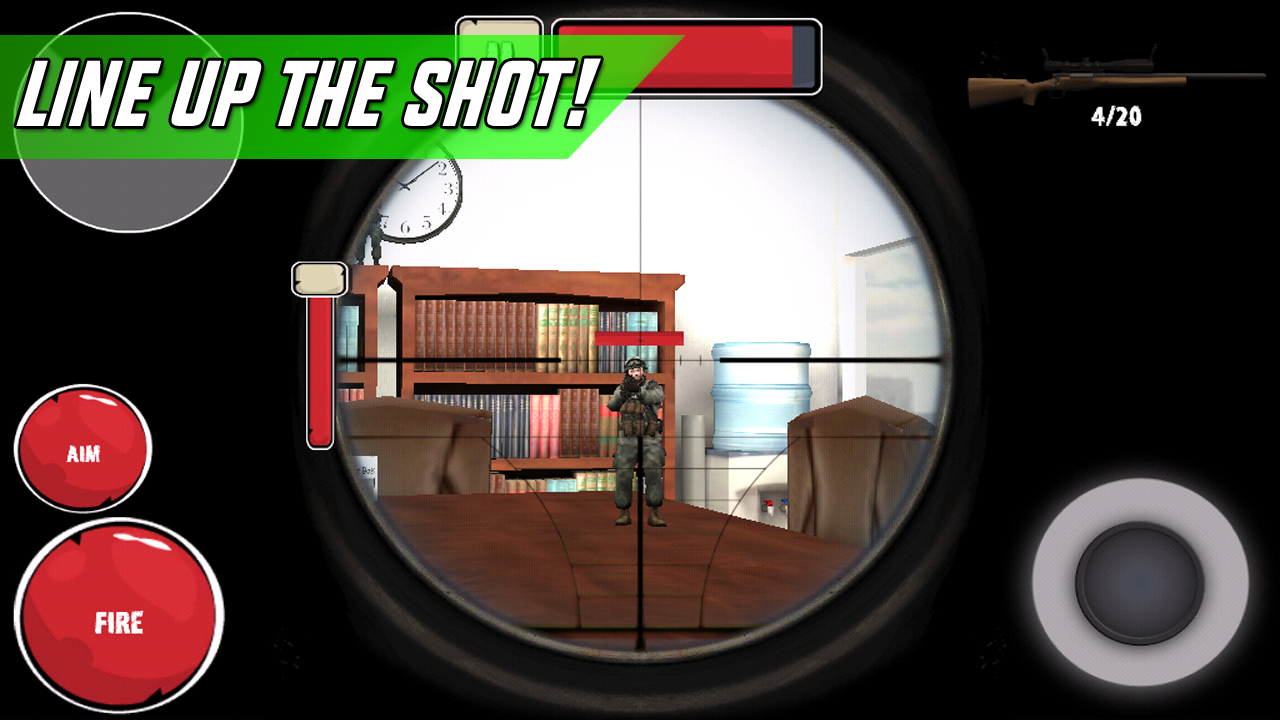 Toy Soldier Sniper Shooter- screenshot