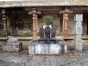 Photo: Shiva shrine