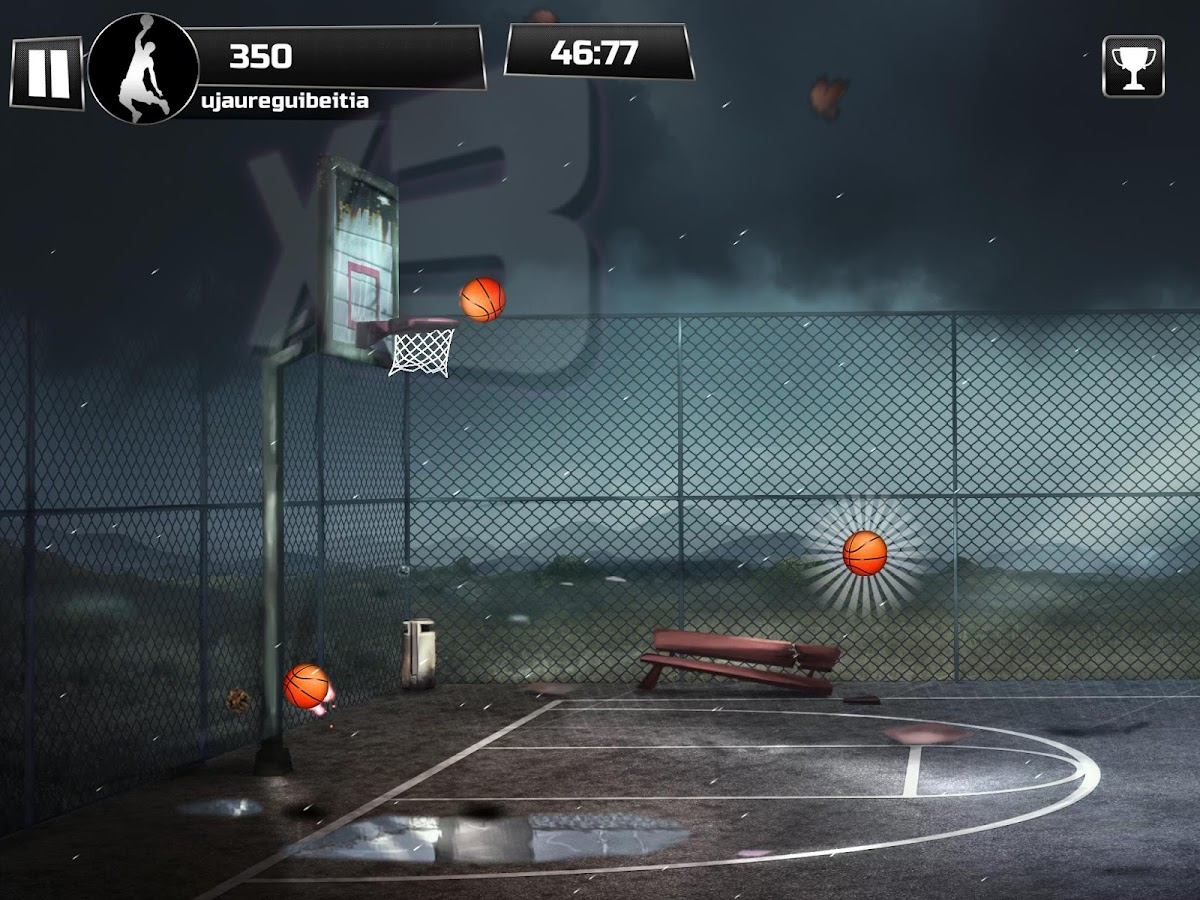 iBasket - Basketball Shooting Practice Game- screenshot