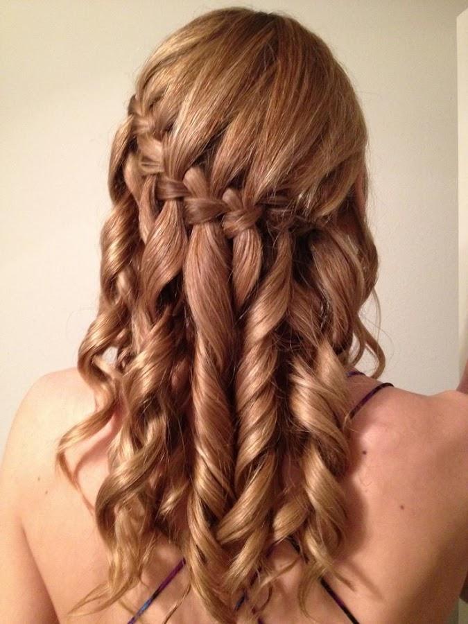 peinados con trenzas hd screenshot