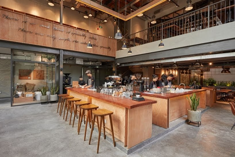 The Coffee House Signature por Bo Design & Construction